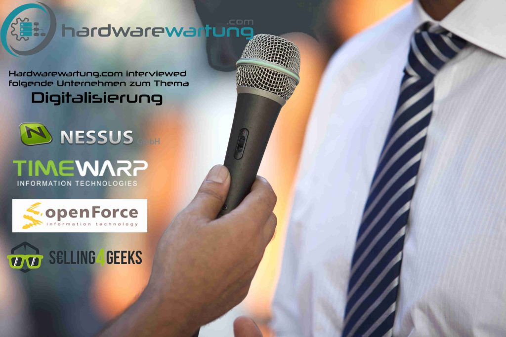Interview bei Hardwarewartung.com über Digitalisierung